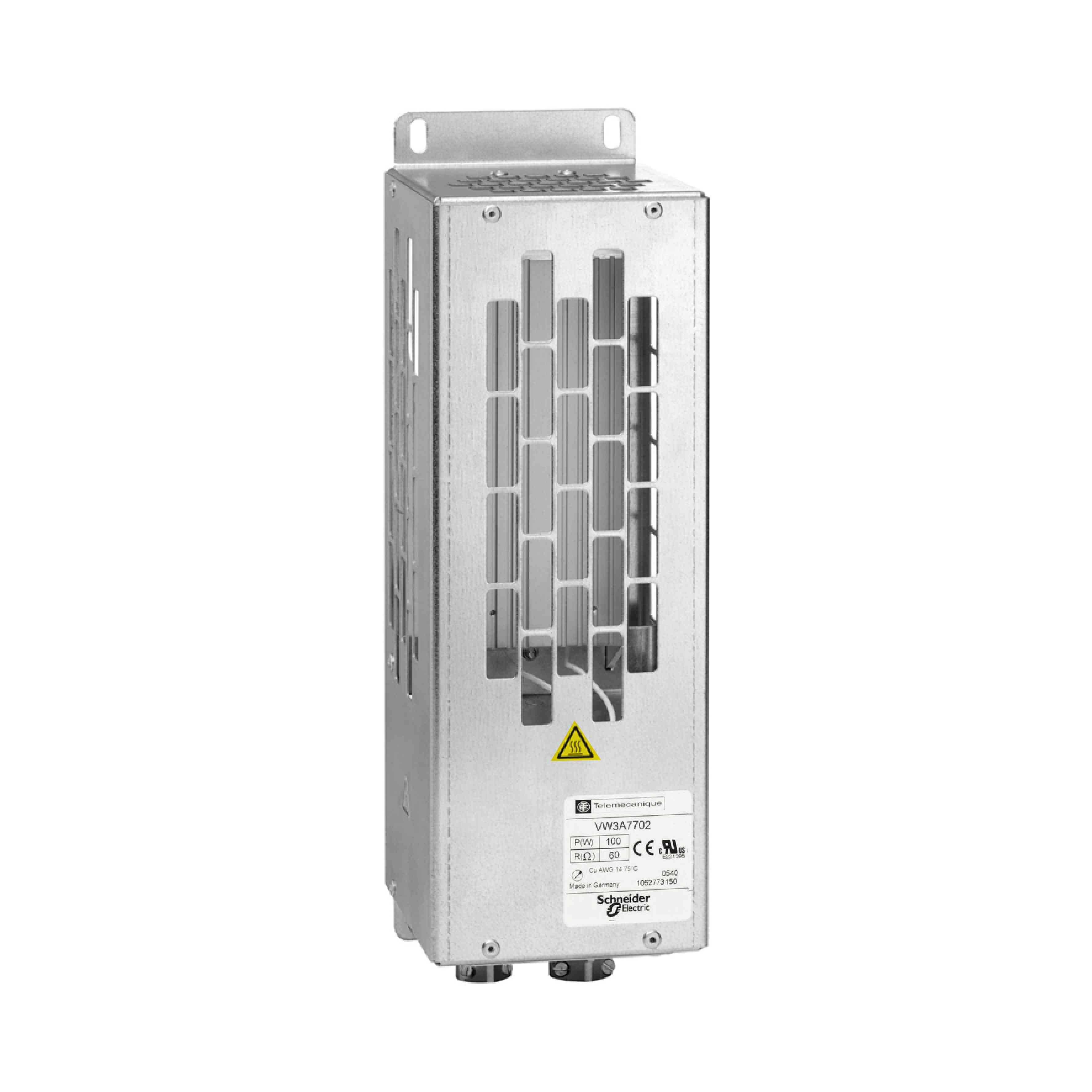 Zaviralni upornik - IP 20 - 100 Ohmov - 1,6 kW