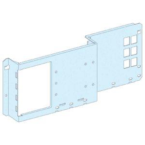 Montažna plošča NSX/CVS/INS 250, vodoravno pritrjen preklop
