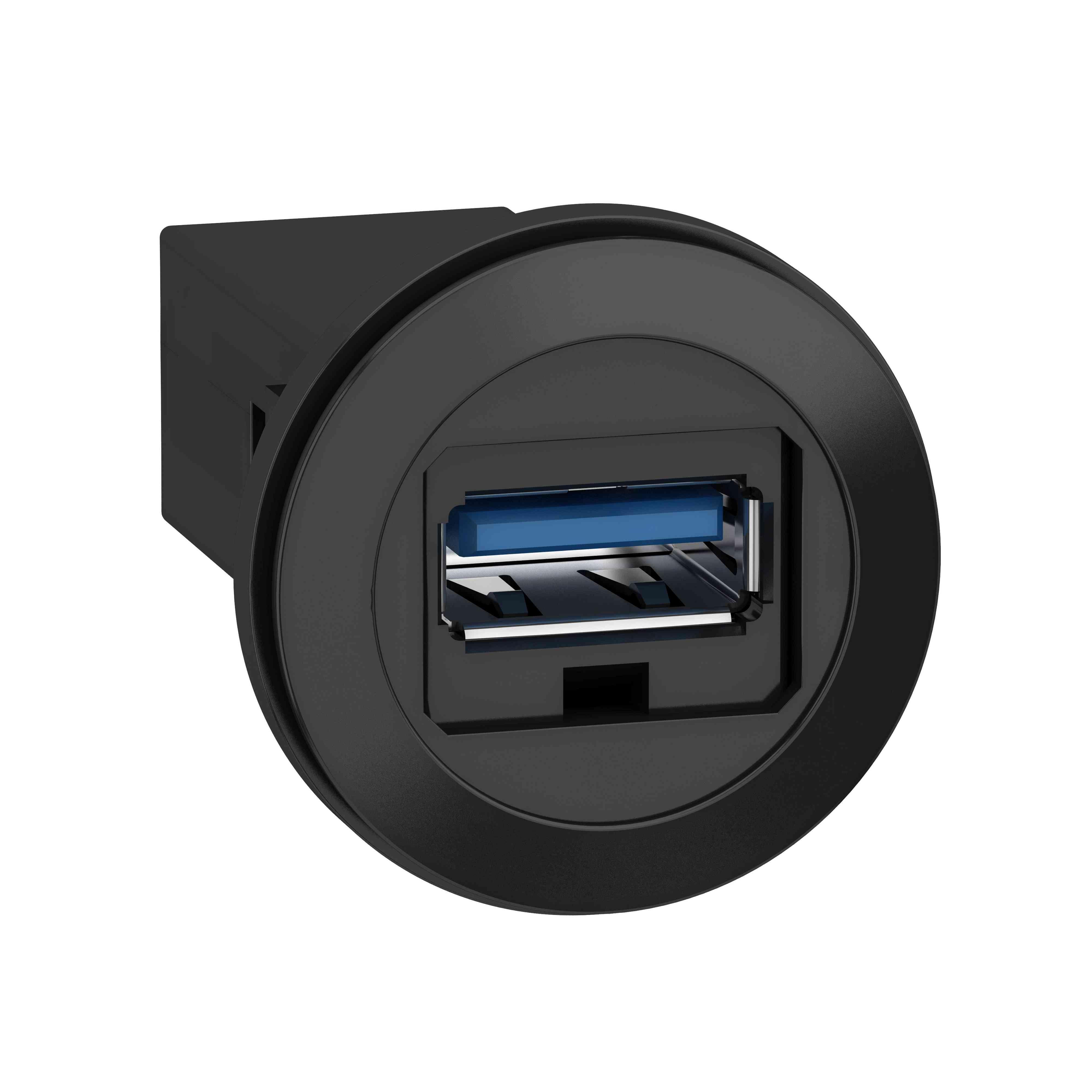 Na ploščo nameščena vrata USB 3.0 - Ø 22 mm - za vtičnico USB vmesnika, tip A