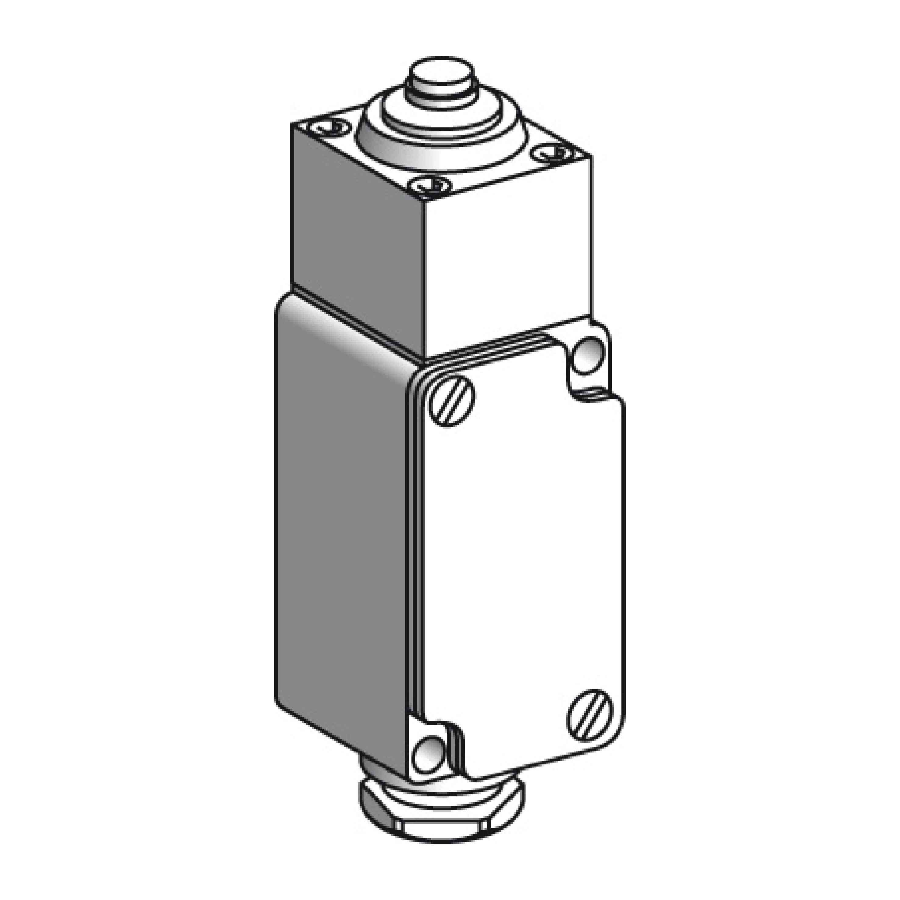Omejitveno stikalo XC2-J - bat s kovinskim zaključkom - 1 C/O