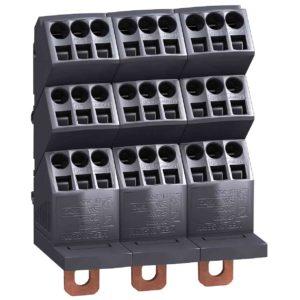 Linergy DP 3P distrib. blok - Compact NSX, INS - 250 A - 27 odpr. za hitri prik.