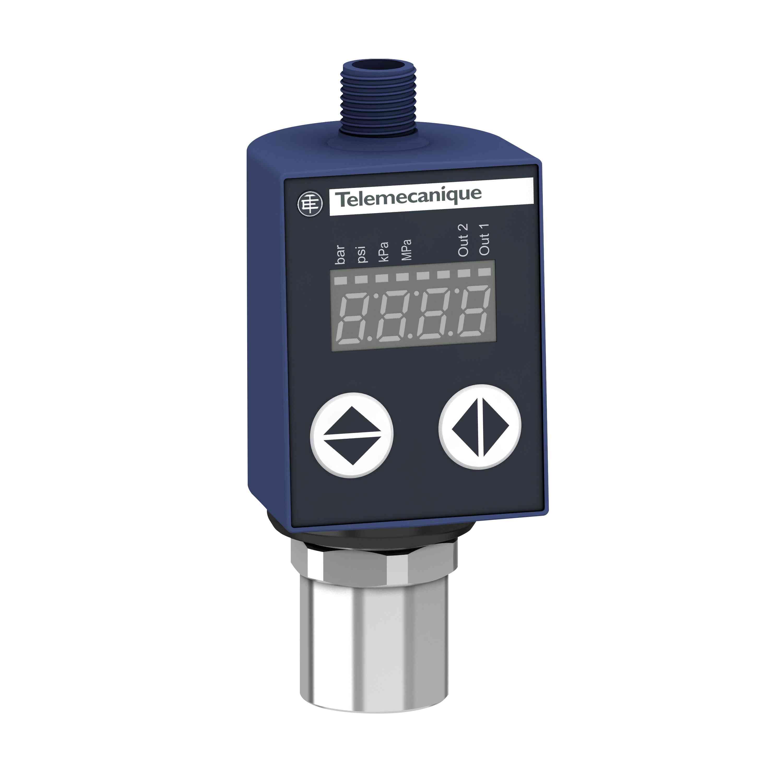 Tlačni senzorji XMLR 10 barov - SAE 7/16-20UNF-2B - 24 V DC - 2 x PNP - M12