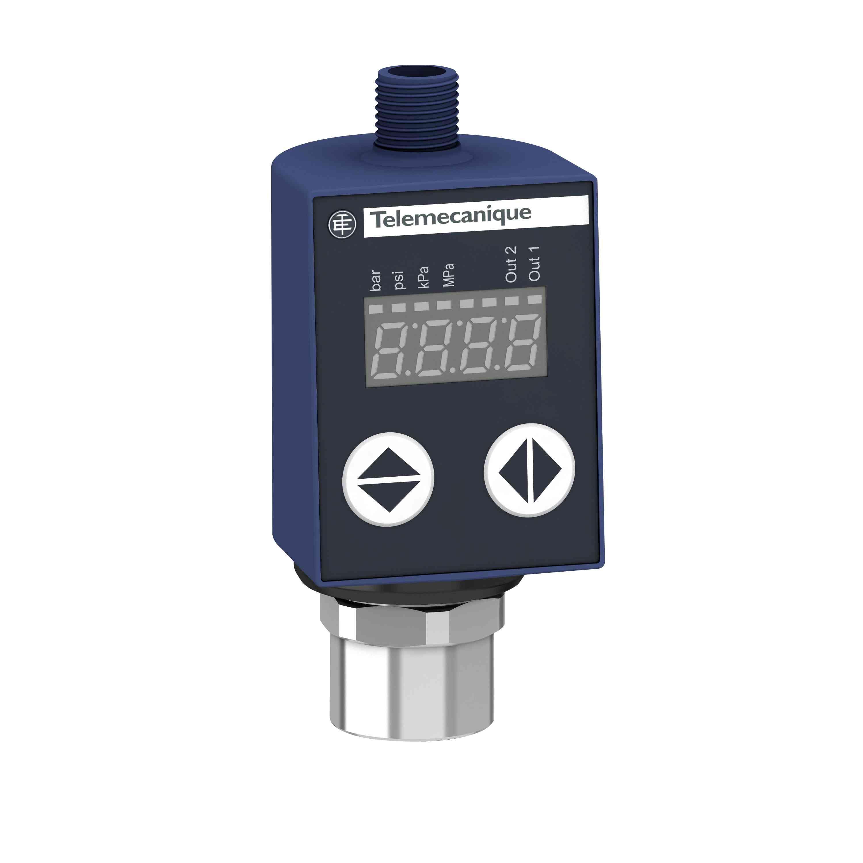 Tlačni senzorji XMLR 16 barov - G 1/4 - 24 V DC - 2 x PNP - M12