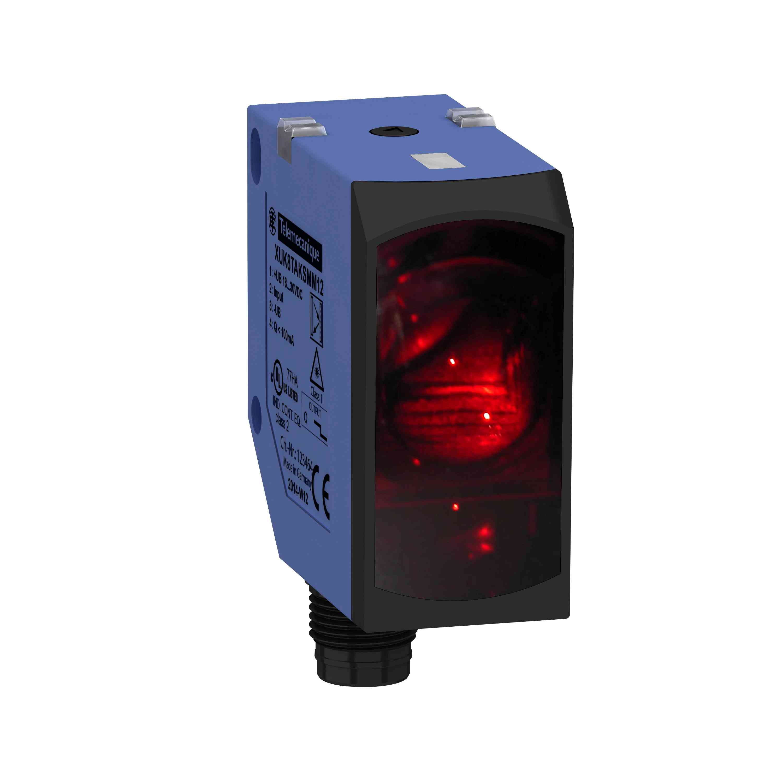 Fotoelektrični senzor - XUK - difuzer - sn 5 m, 1Q, samodejni PNP/NPN