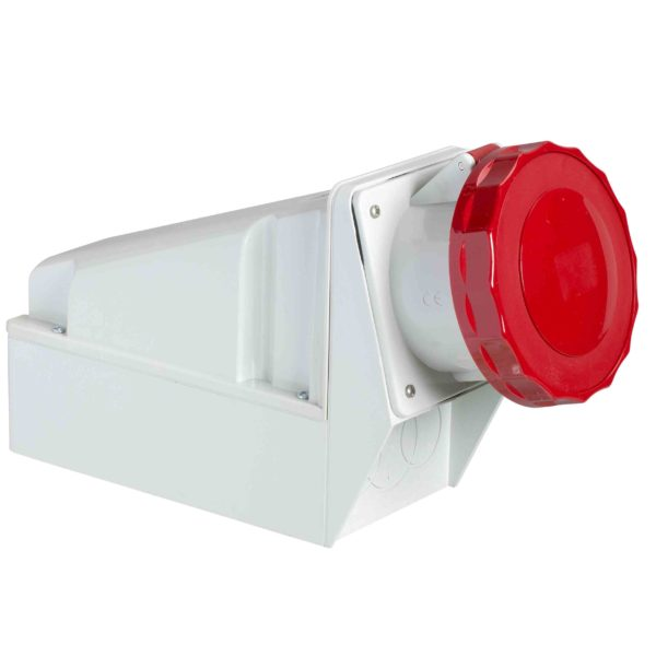 PratiKa industrijska vtičnica - 63 A - 3P + E - 380 do 415 V AC - IP67