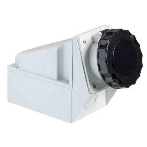 PratiKa industrijska vtičnica - 63 A - 3P + N + E - 480 do 500 V AC - IP67