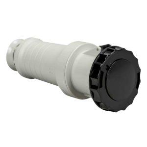 PratiKa gnezdna vtičnica - ravna - 63 A - 3P + E - 480 do 500 V AC - IP67
