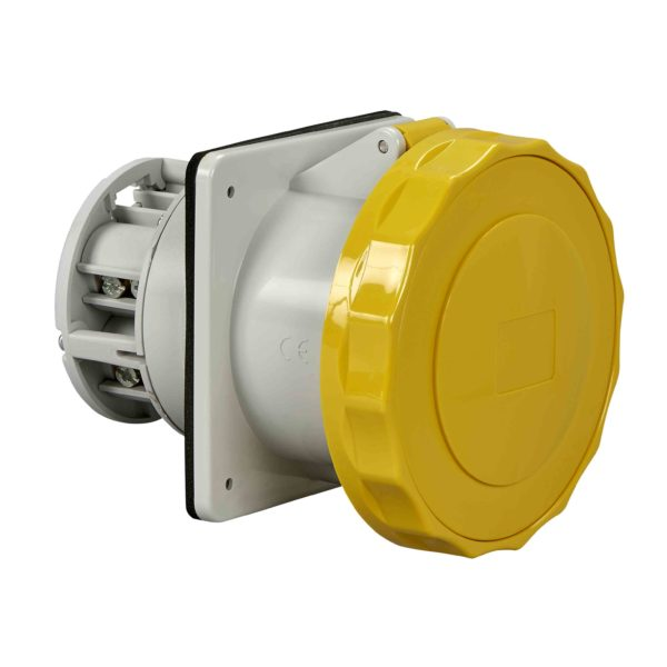 PratiKa industrijska vtičnica - 125 A - 3P + N + E - 100 do 130 V AC - IP67
