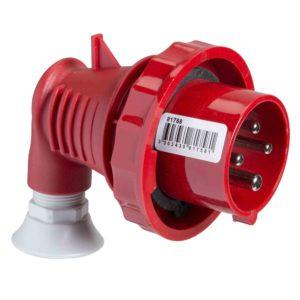 PratiKa gnezdni vtič - pod kot. 90° - 32 A - 3P + N + E - 380 do 415 V AC - IP67