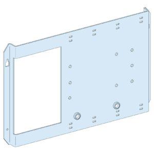 Montažna plošča NSX/CVS/INS 630, vodoravno pritrjen preklop