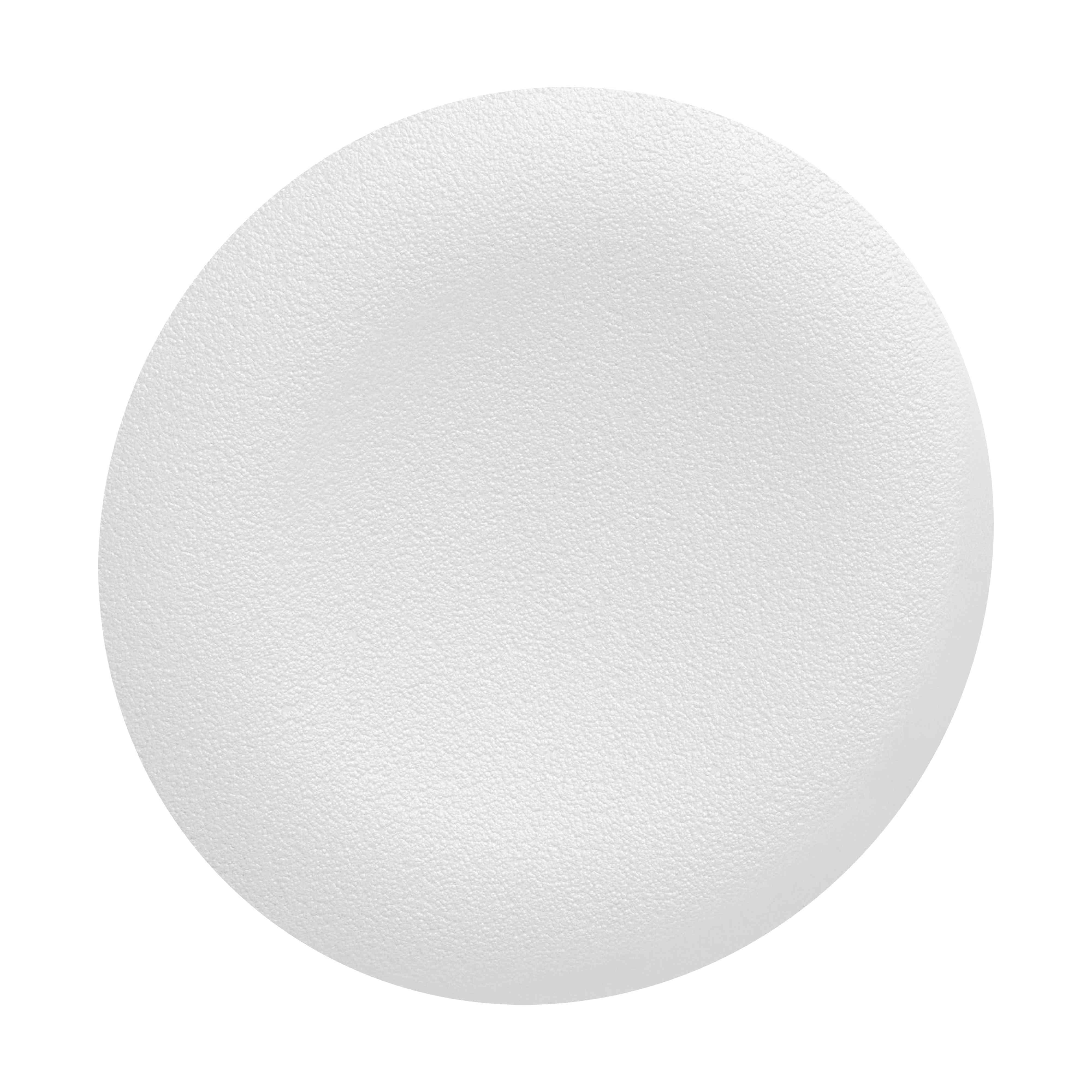 Bel navaden pokrov za podometno nameščeno tipko