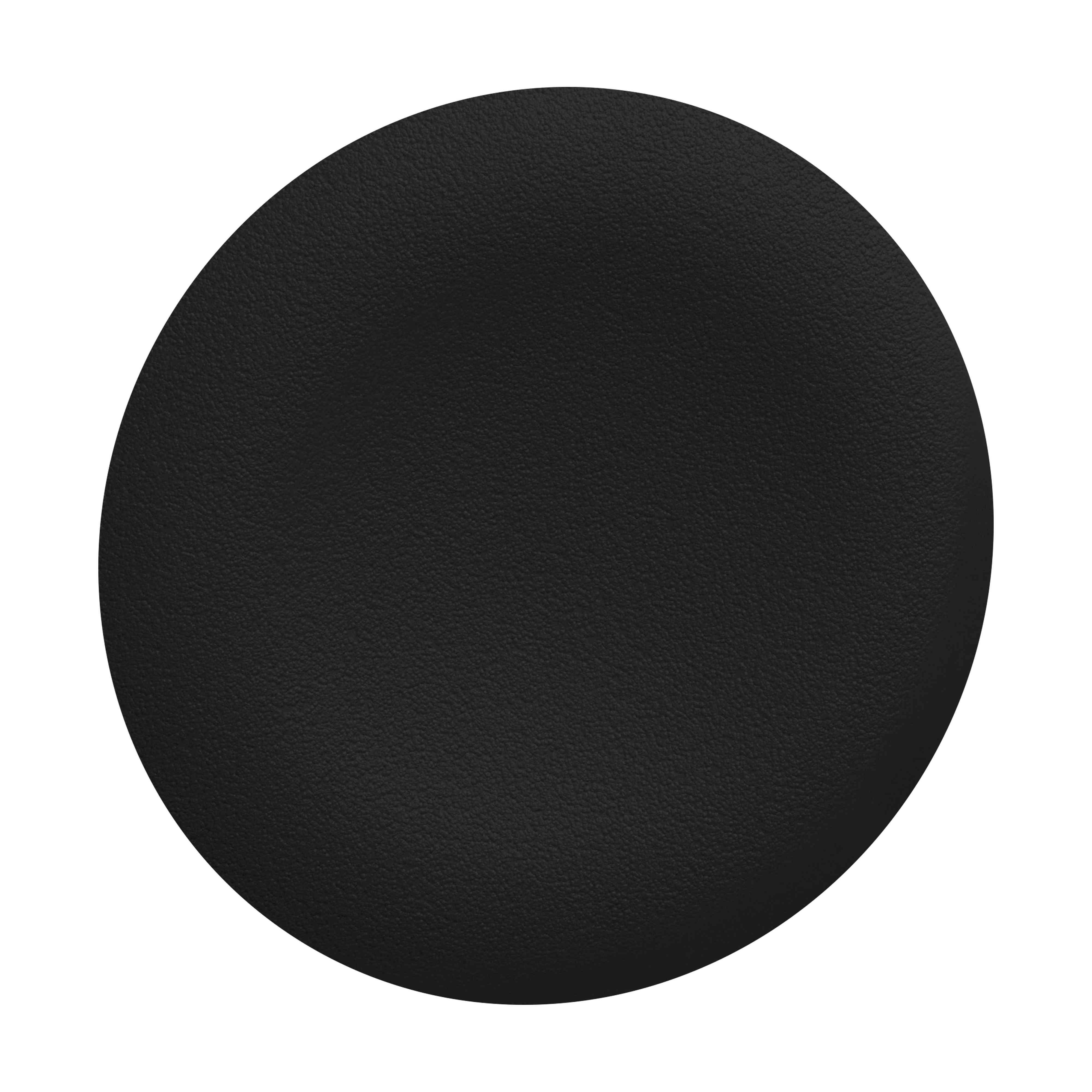 Črn navaden pokrov za podometno nameščeno tipko
