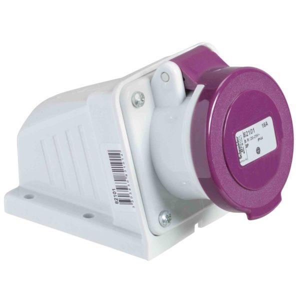 PratiKa industrijska vtičnica - 32 A - 2P - 20 do 25 V AC - IP44