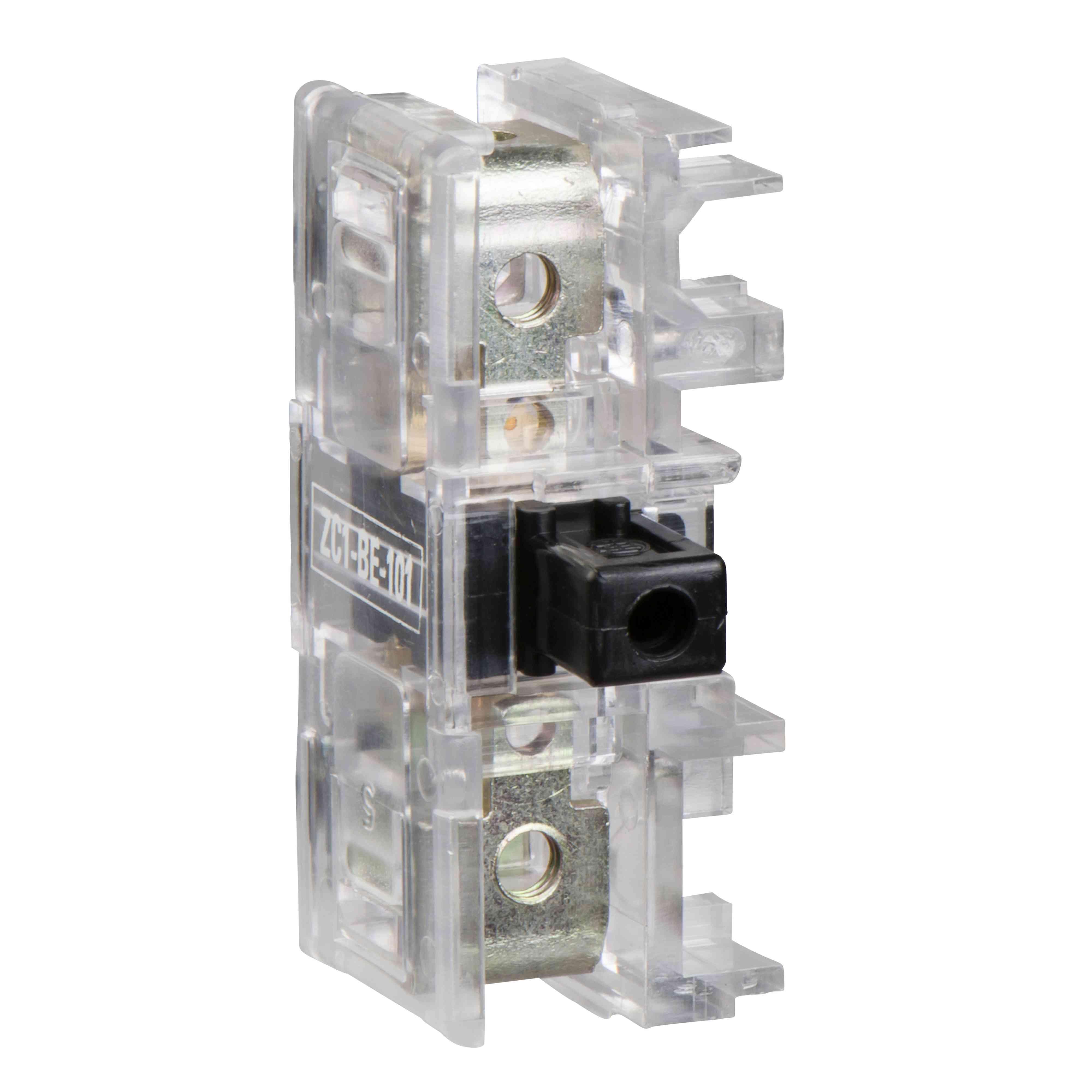 Kontaktni blok s tipko ZC1 - priključki z vijačnimi objemkami