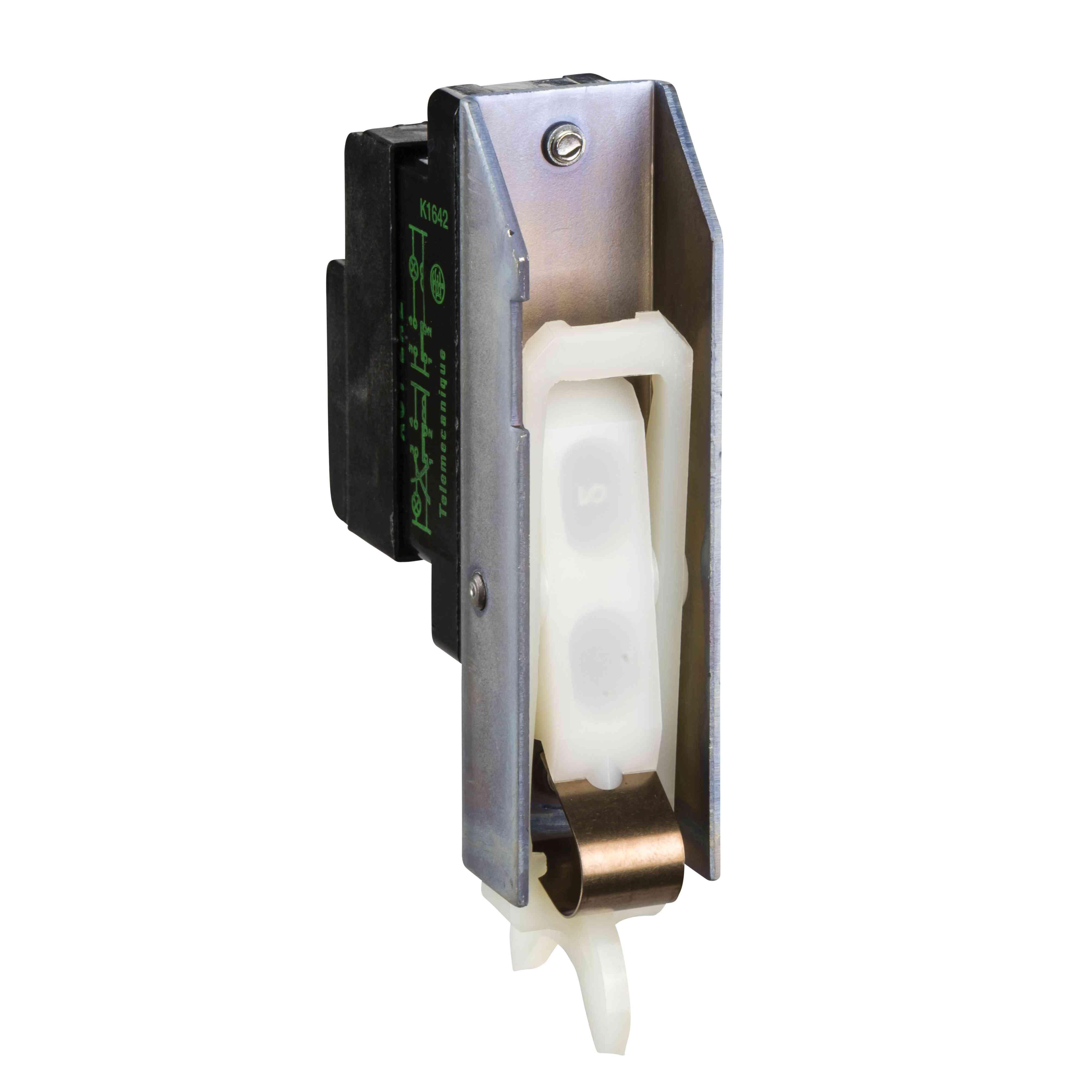Pomožni kontakt - 1 C/O = 25 mW - s hitrim proženjem