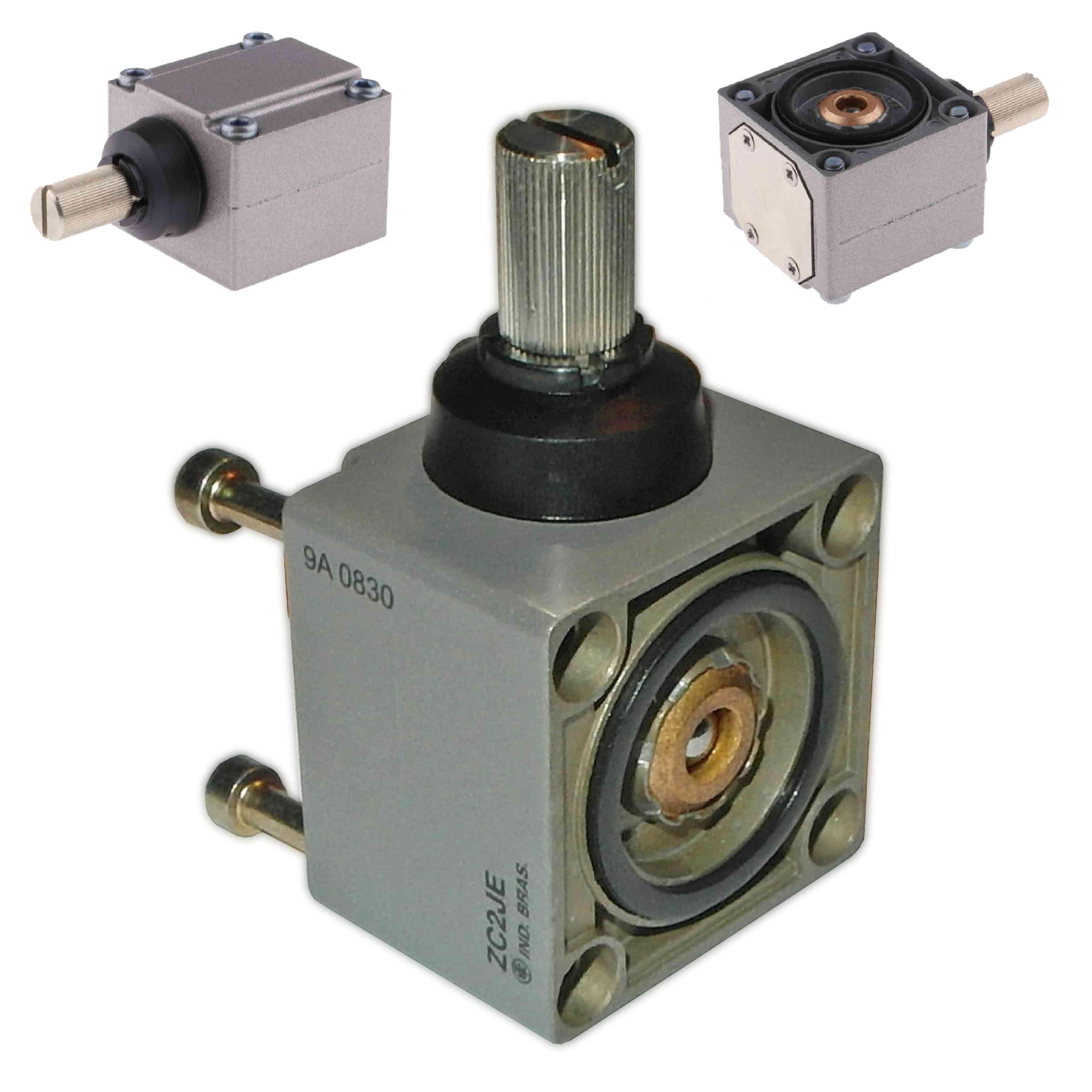 Glava omejitvenega stikala ZC2J - brez vzvoda za levi in desni vklop - +120 °C