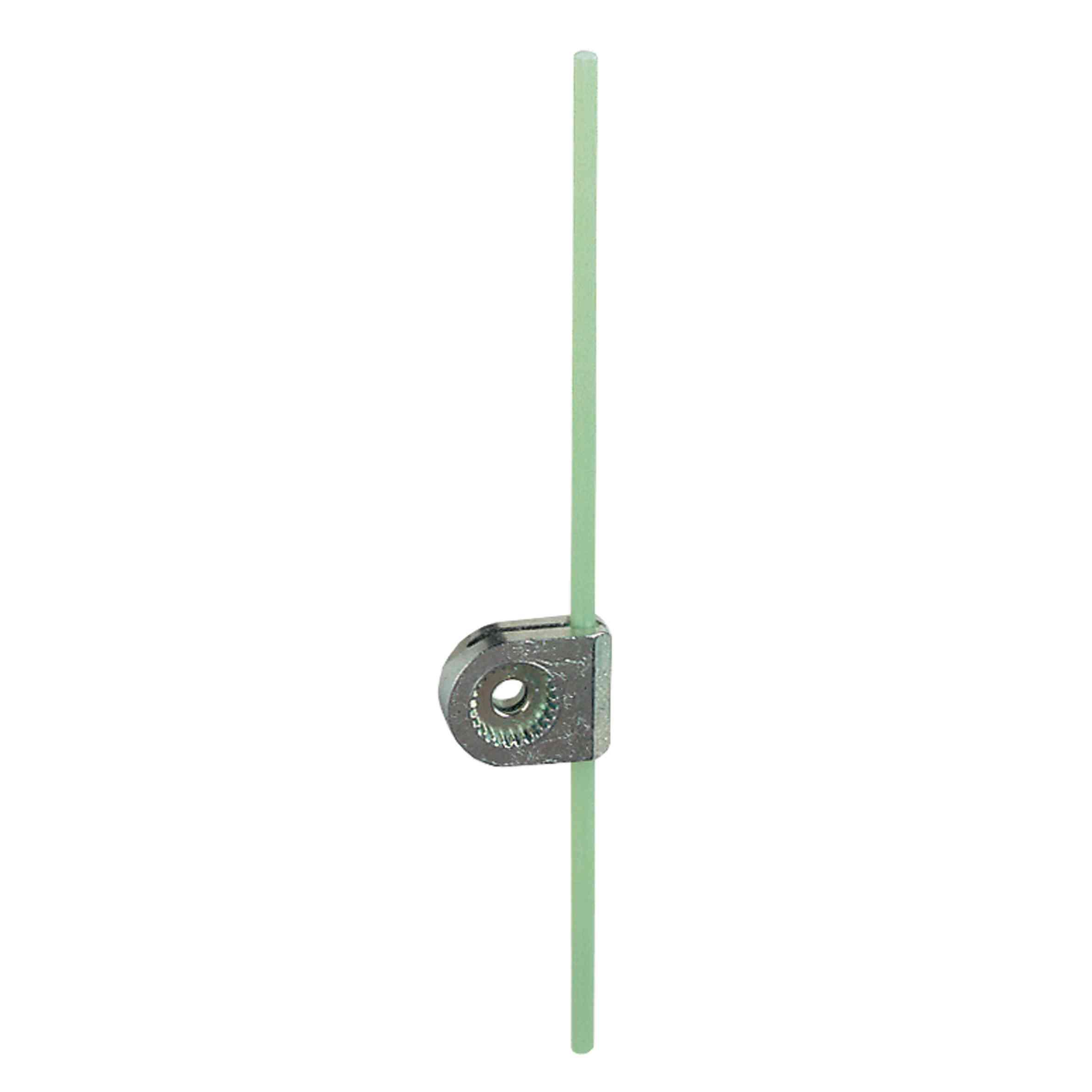 Vzv. omej. stik. ZCY - vzv. z okroglo palico iz stekl. vlaken, 3 mm, D = 125 mm