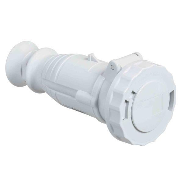 PratiKa gnezdna vtičnica - ravna - 32 A - 3P - 40 do 50 V AC - IP67