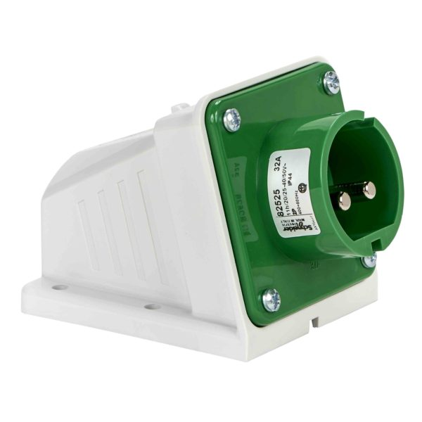PratiKa industrijski vtič - 32 A - 2P - 20 do 25 V AC - IP44