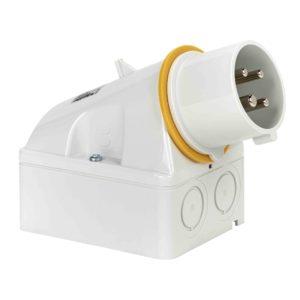 PratiKa industrijski vtič - 16 A - 3P + E - 100 do 130 V AC - IP44