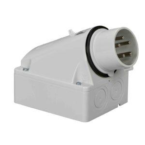 PratiKa industrijski vtič - 16 A - 3P + N + E - 480 do 500 V AC - IP44
