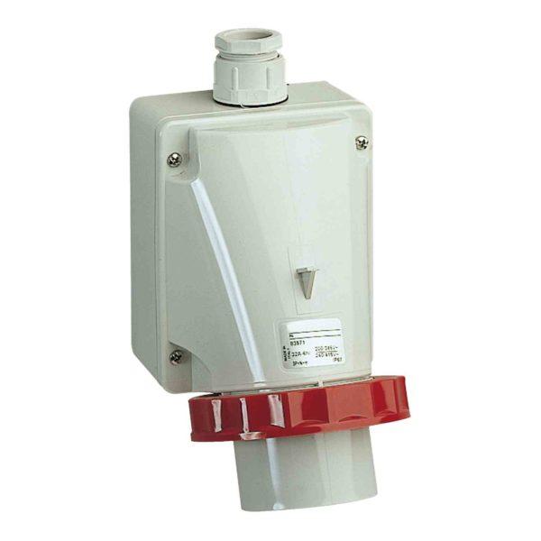 PratiKa industrijski vtič - 16 A - 3P + E - 380 do 415 V AC - IP67