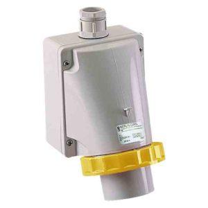 PratiKa industrijski vtič - 16 A - 3P + N + E - 100 do 130 V AC - IP67