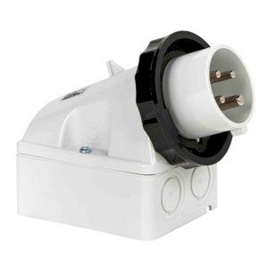 PratiKa industrijski vtič - 16 A - 3P + E - 480 do 500 V AC - IP67