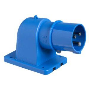 PratiKa industrijski vtič - 16 A - 3P + N + E - 200 do 250 V AC - IP44