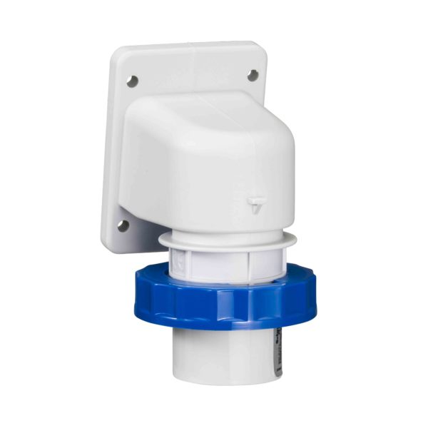PratiKa industrijski vtič - 16 A - 2P + E - 200 do 250 V AC - IP67