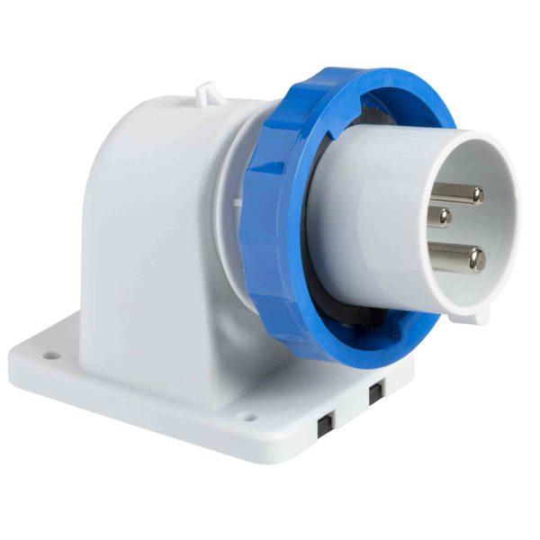 PratiKa industrijski vtič - 16 A - 3P + N + E - 200 do 250 V AC - IP67