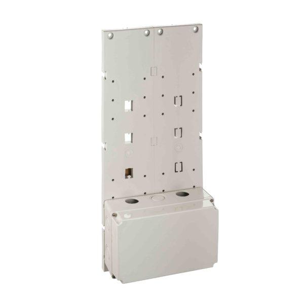 Modularna plošča za 2 industr. vtičnici z zaklepanjem - tip B16 - 222 x 535 mm