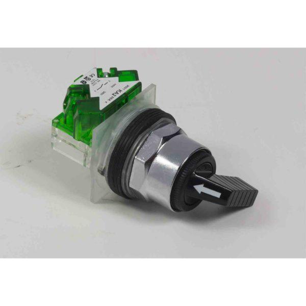 Izbirno stikalo 600 V AC 10 A 30 mm T-K