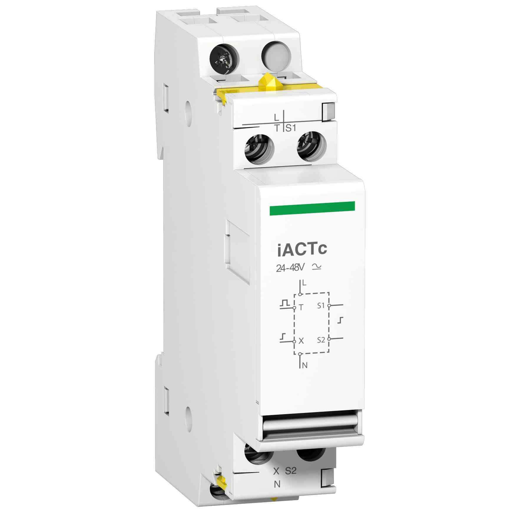 Pomožni dvojni nadzorni vhod iACTc 220 do 240 V AC