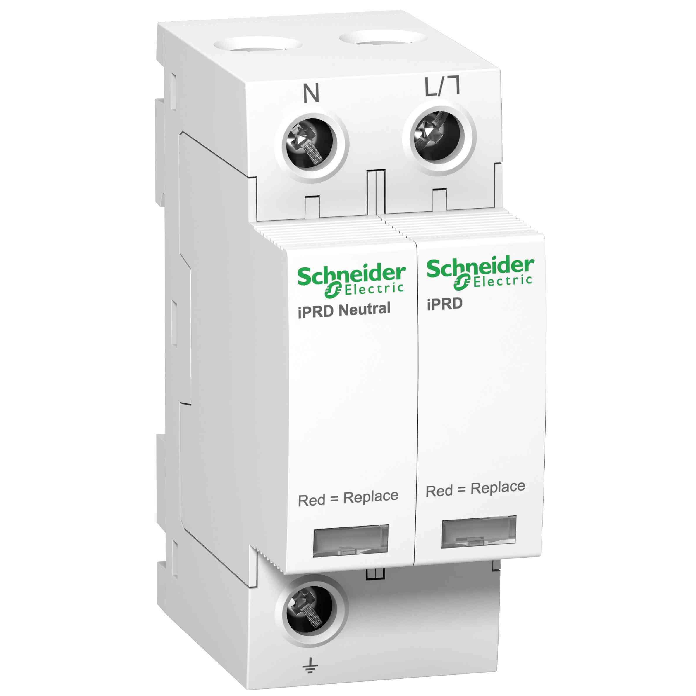 Modularna prenapetostna zaščita iPRD8 - 1P + N - 350 V