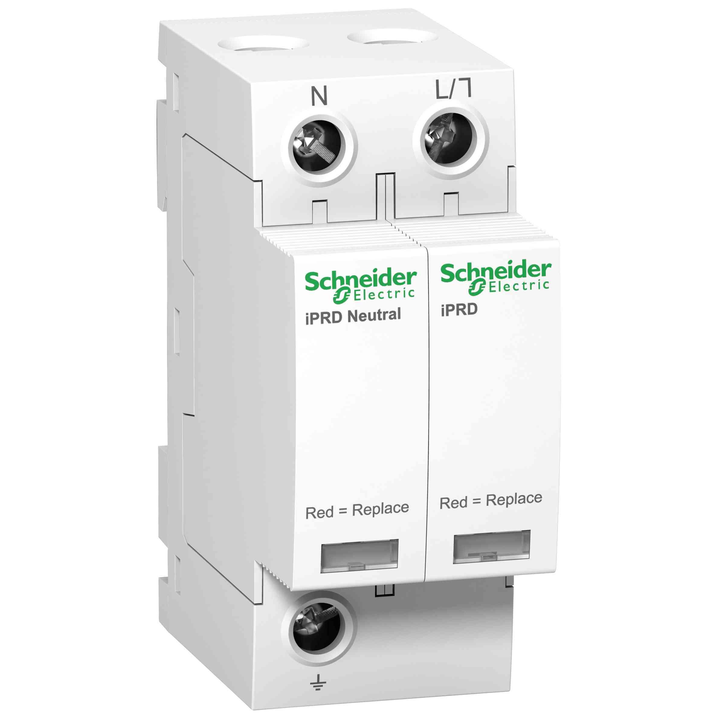 Modularna prenapetostna zaščita iPRD20r - 1P + N - 350 V - z daljinskim prenosom