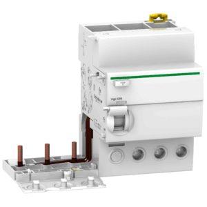 Vigi iC60 - ozemljitveni blok - 3P - 63 A - 30 mA - tip AC