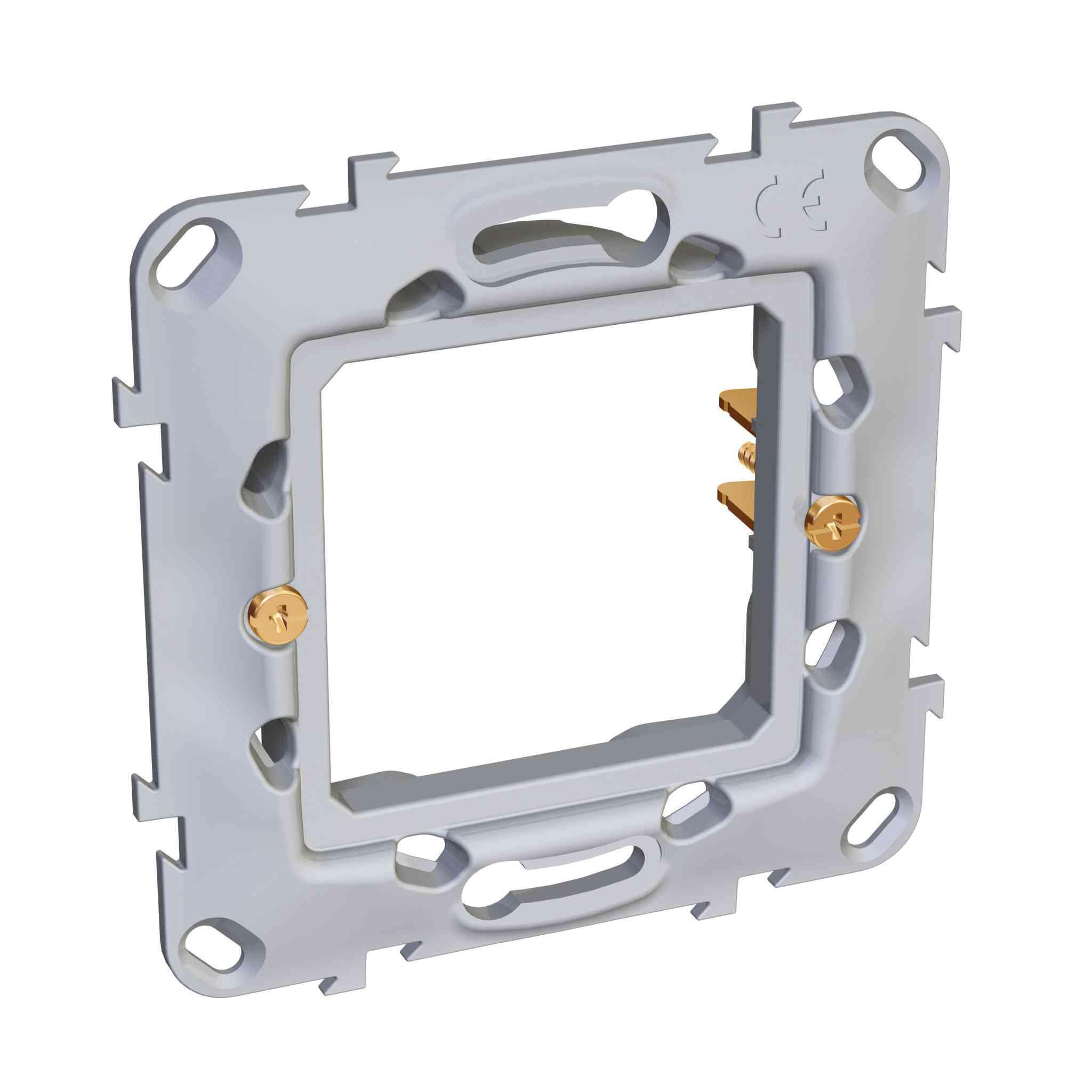 Altira - pritrditveni okvir - CEE7 ohišja - 1 odprtina - plastičen