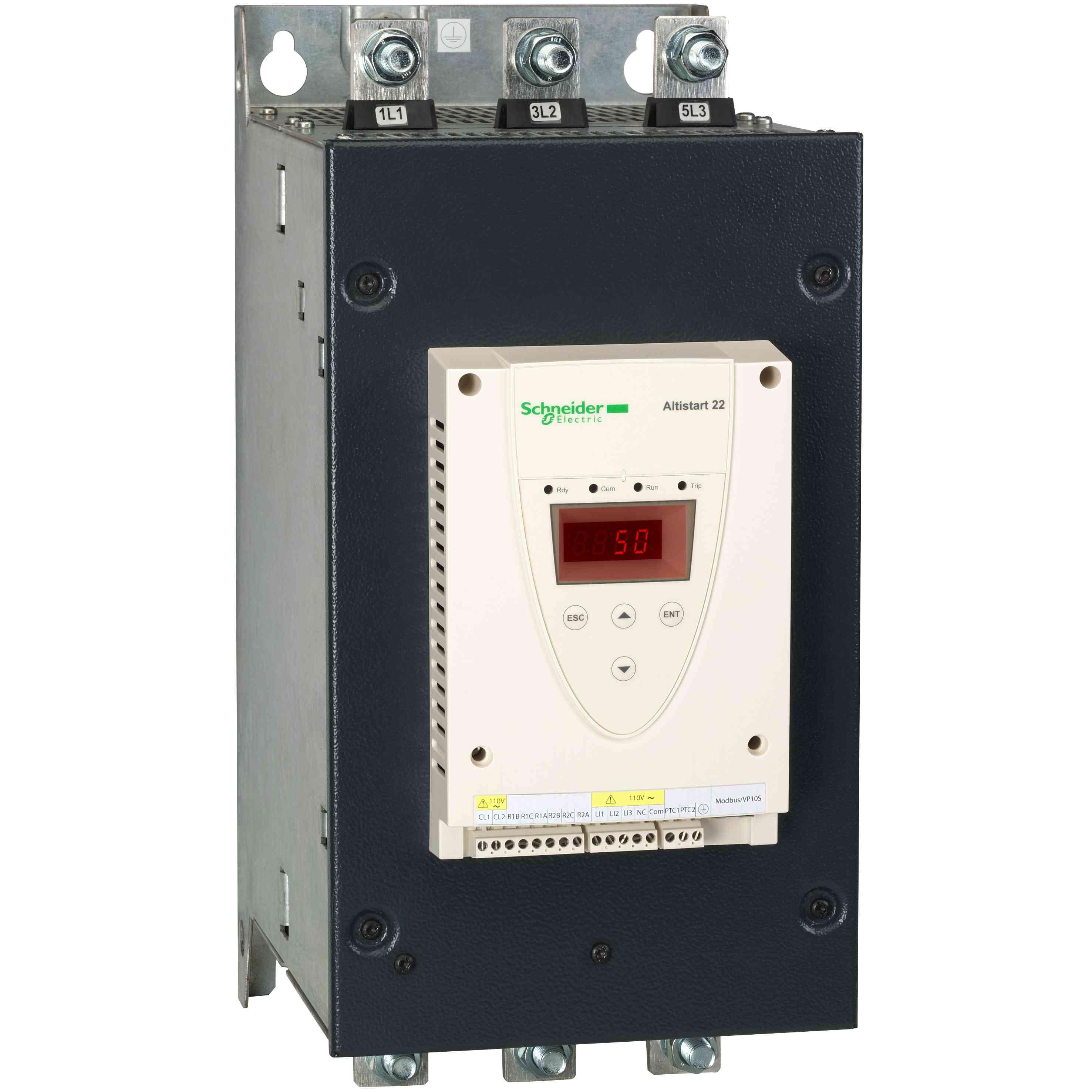 Mehki zag. - ATS22 - nad. 220 V - nap. 230 V (75 kW)/400 do 440 V (132 kW)