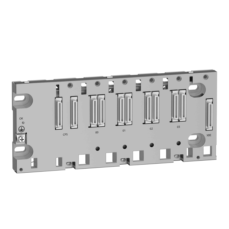 Robustno ohišje X80 - 4 reže - hrbtna plošča za Ethernet