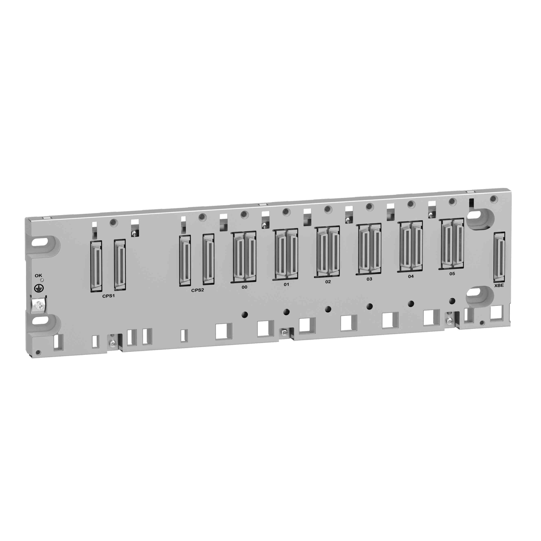 Ohišje X80 - 6 rež - redundanten PS - hrbtna plošča za Ethernet