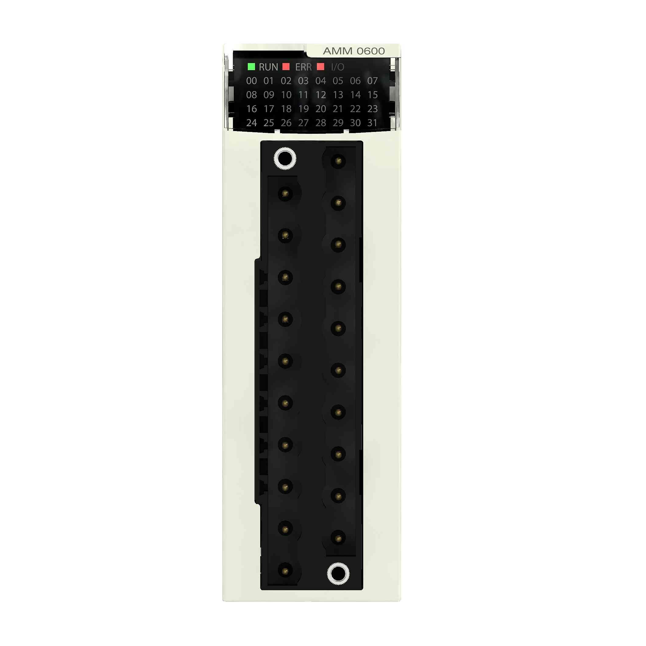 Mešani modul M340 analogni I/O - 4 vhodi 0 do 20 ma - 2 izhoda 0 do 20 ma