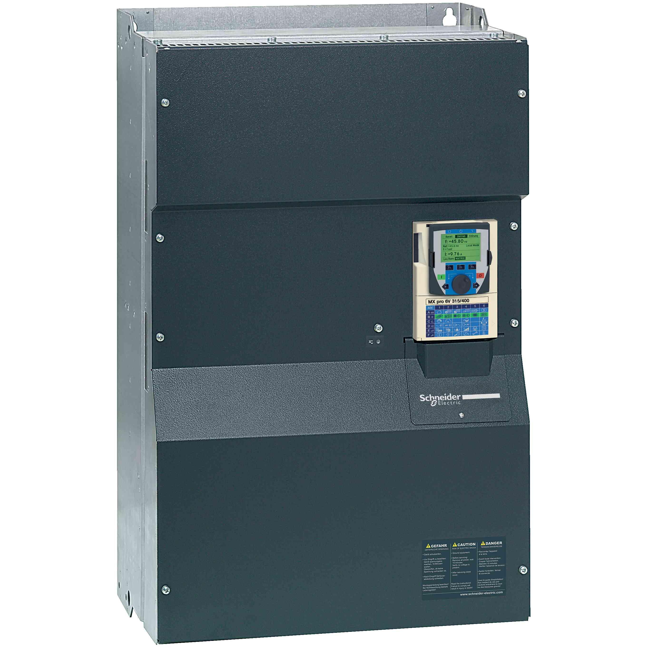 MX pro 6V132/160 - pog. s spr. hitr. - 132/160 kW - 690 V - 3 PH - EMC - IP00