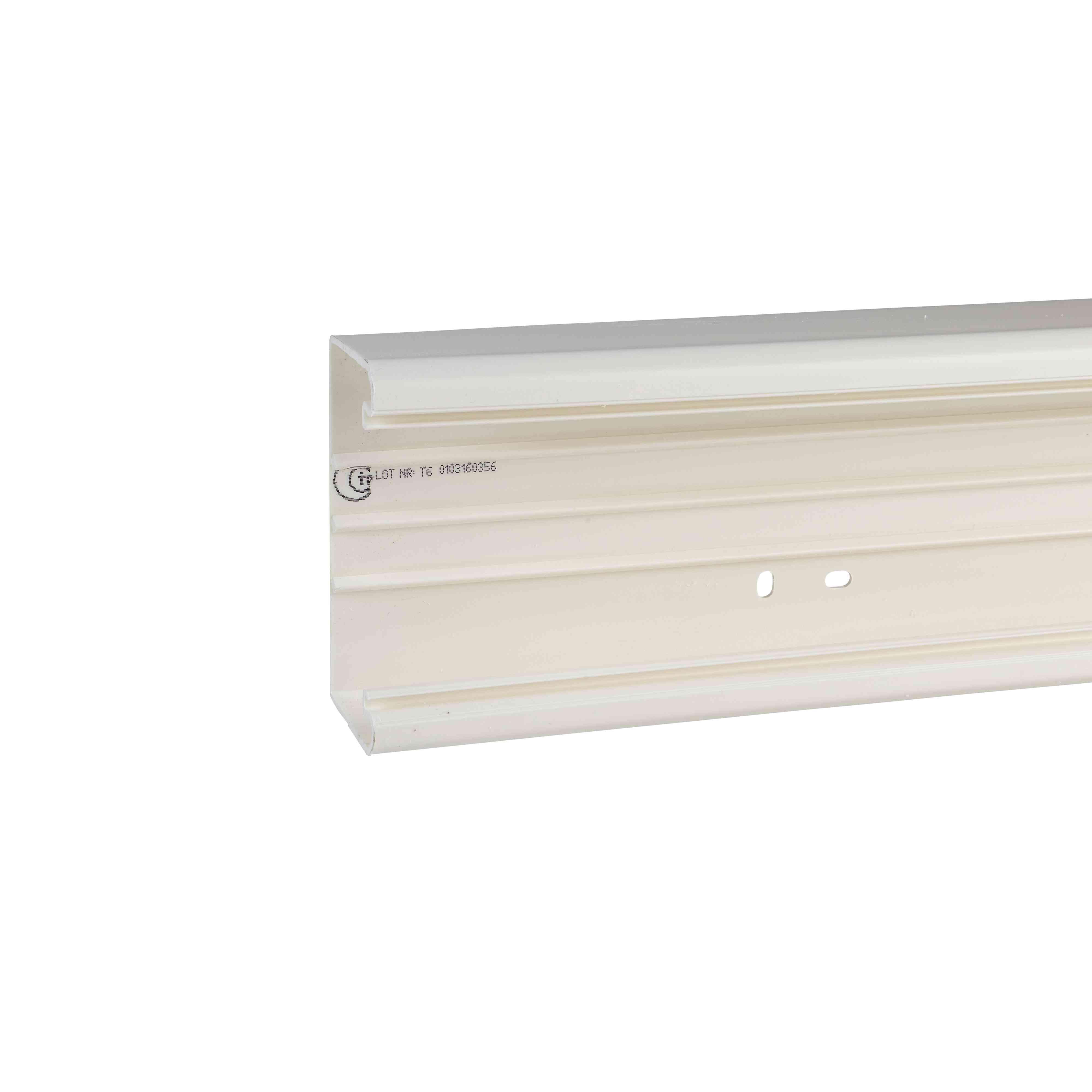 Ultra - namestitveni kanali - 151 x 50 mm - plastični - beli - 2 m
