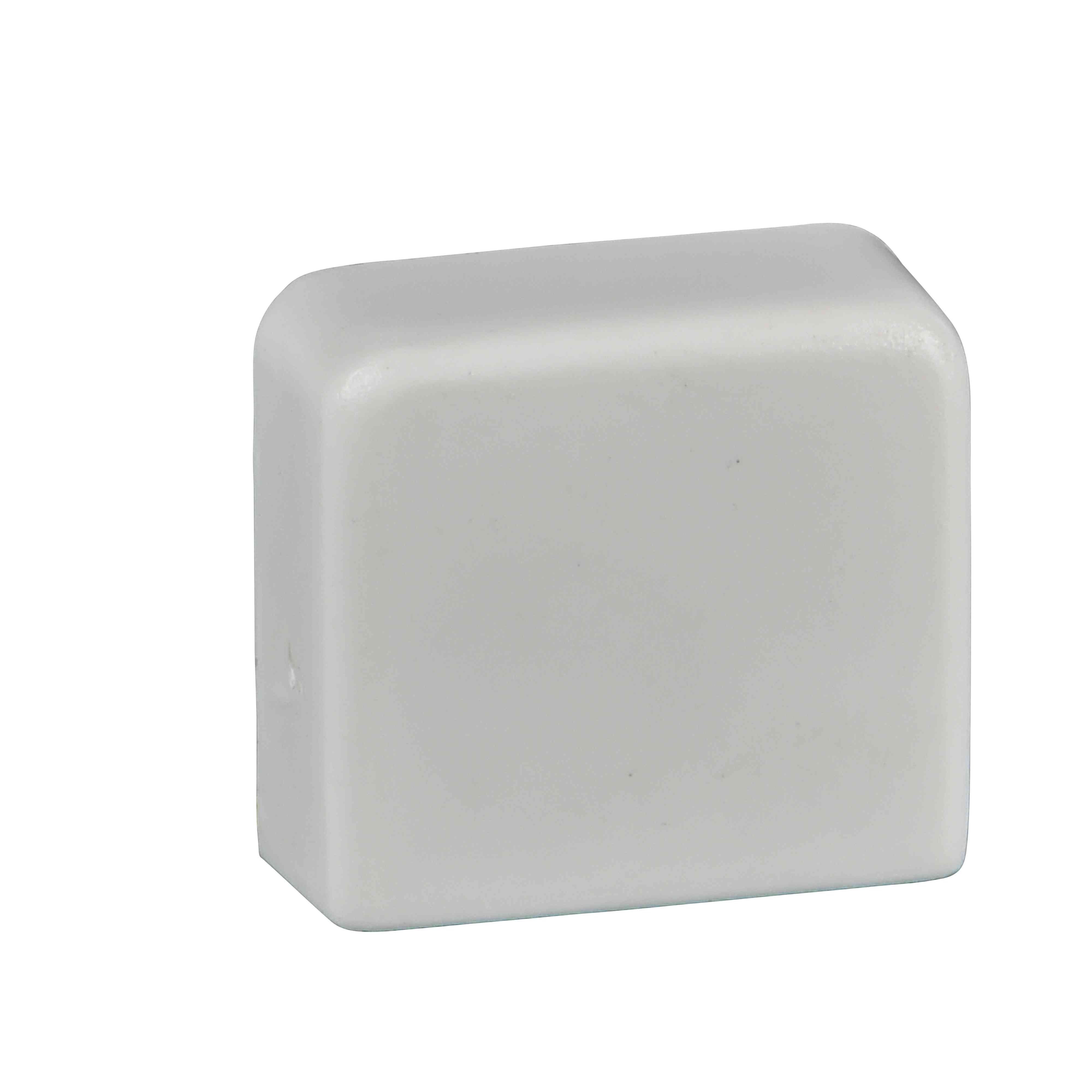 Ultra - stop konec - 21 x 12 mm - ABS - bel