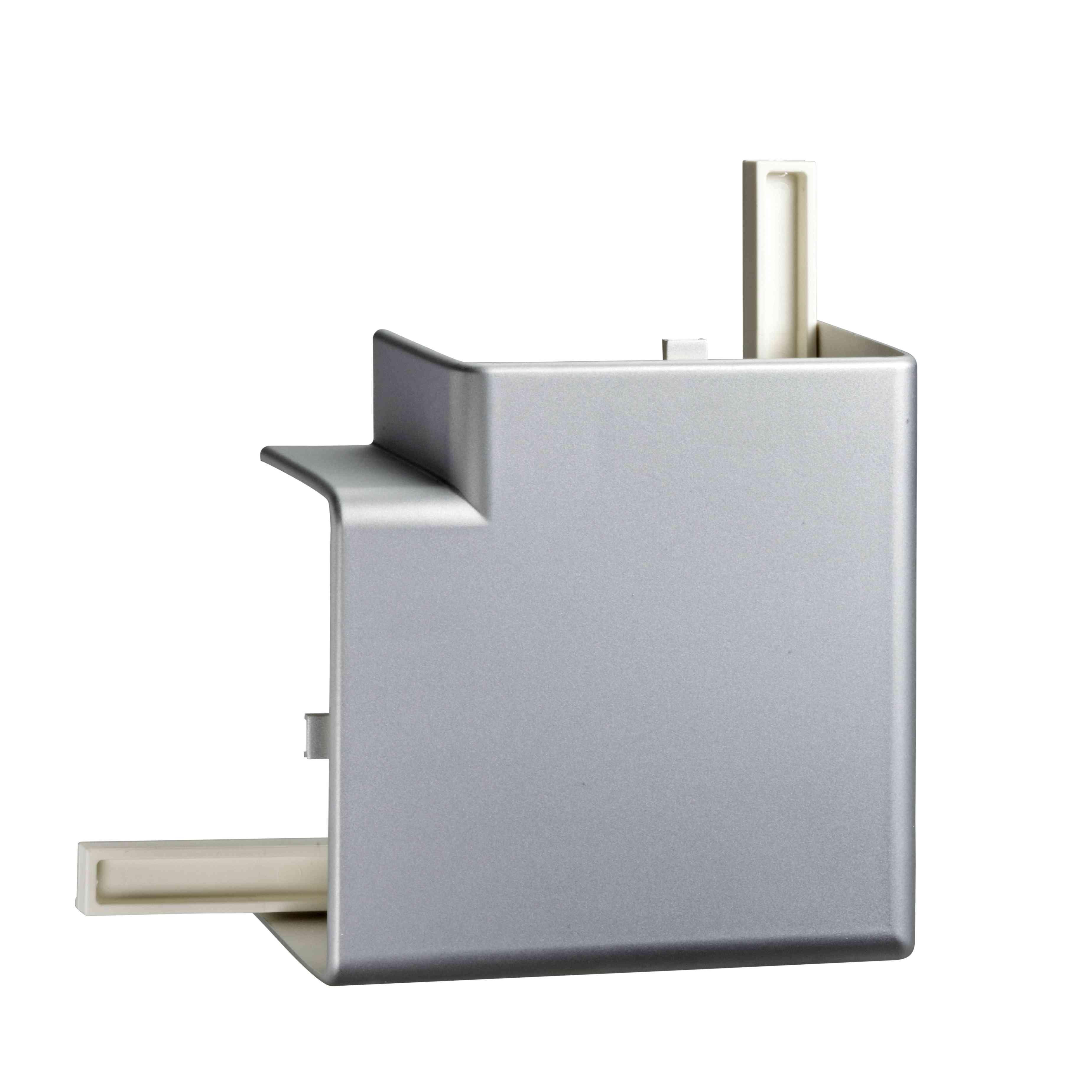 OptiLine 45 - upognjen 90° - PC/ABS - kovinsko