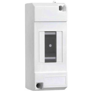 Micro Pragma nadom. omara - IP30 - 1 x 2 modula - obojestr. prosojna vrata