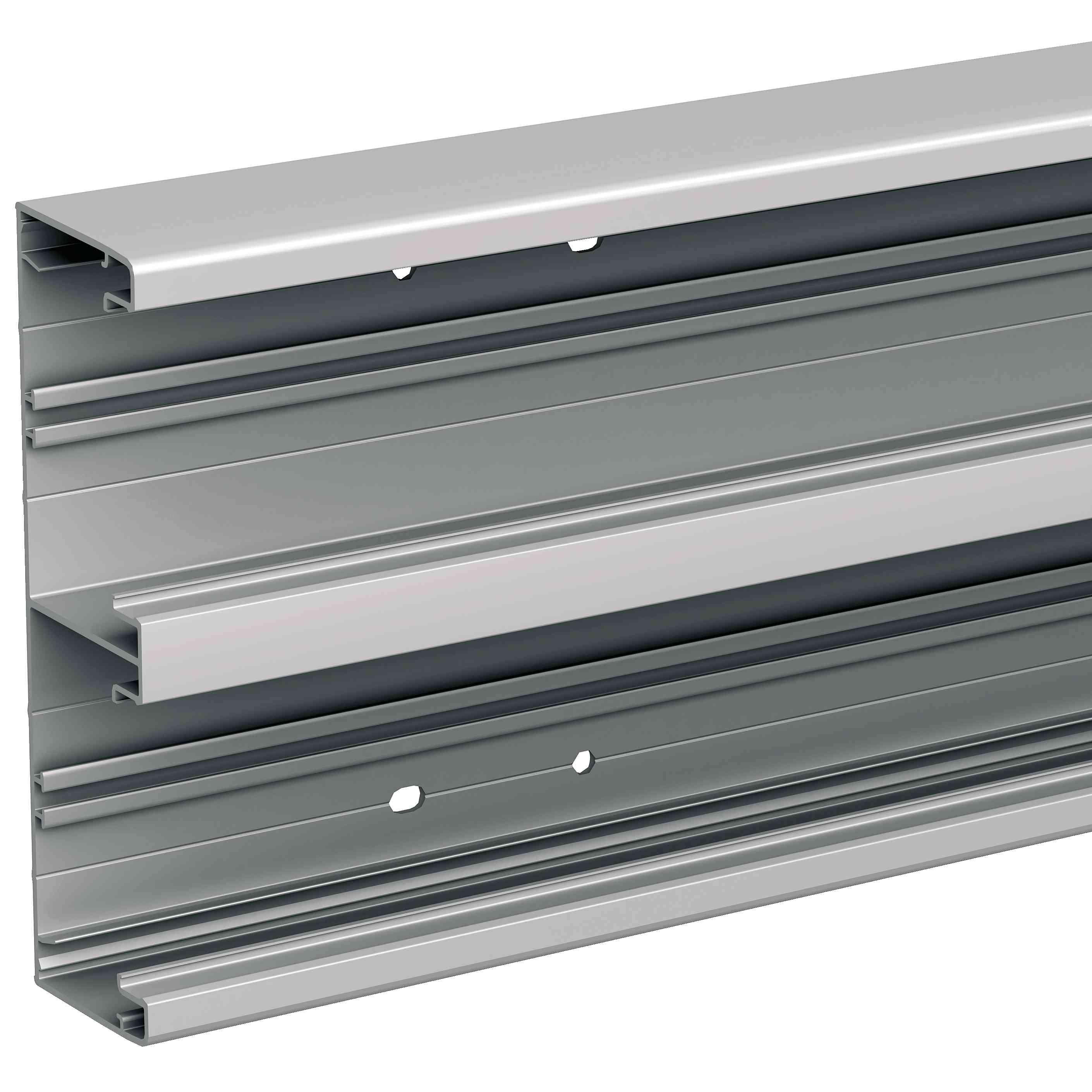 OptiLine 70 - namestitveni kanali - 185 x55 mm - alum. - naravni - 2000 mm